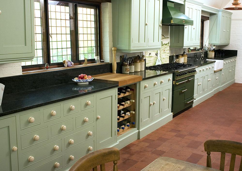 Welcoming Intimate Showhouse Kitchen: Levick Jorgensen Kitchens